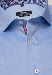 ETERNA LONG SLEEVE SHIRT COMFORT FIT PINPOINT BLUE UNI