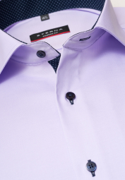 ETERNA LONG SLEEVE SHIRT MODERN FIT PINPOINT LILAC UNI