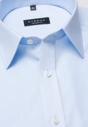 ETERNA HALF SLEEVE SHIRT COMFORT FIT LIGHT BLUE UNI