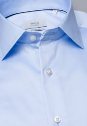 ETERNA LONG SLEEVE SHIRT MODERN FIT GENTLE SHIRT LIGHT BLUE UNI