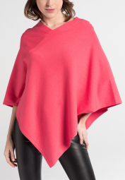 ETERNA KNIT PONCHO FLAMINGO UNI