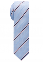 ETERNA TIE LIGHT BLUE / PINK STRIPED
