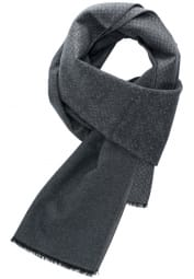 ETERNA SCARF ANTHRACITE / GREY PATTERNED