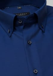 ETERNA LONG SLEEVE SHIRT COMFORT FIT NAVY BLUE UNI
