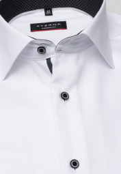 ETERNA LONG SLEEVE SHIRT MODERN FIT WHITE UNI