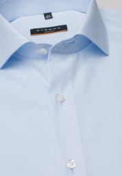 ETERNA LONG SLEEVE SHIRT SLIM FIT LIGHT BLUE UNI