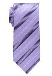 ETERNA TIE PURPLE/BEIGE