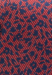 ETERNA TIE RED/BLUE PATTERNED