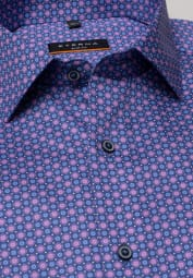 ETERNA LONG SLEEVE SHIRT SLIM FIT PINK / BLUE
