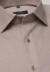 ETERNA LONG SLEEVE SHIRT COMFORT FIT BEIGE