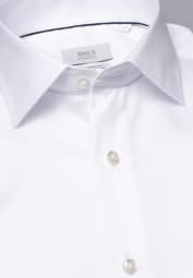 ETERNA LONG SLEEVE SHIRT MODERN FIT GENTLE SHIRT WHITE UNI