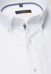 ETERNA LONG SLEEVE SHIRT SLIM FIT OXFORD WHITE UNI