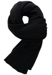 ETERNA SCARF BLACK UNI
