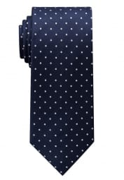 ETERNA TIE NAVY BLUE / WHITE SPOTTED