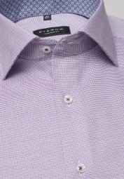 ETERNA LONG SLEEVE SHIRT COMFORT FIT PURPLE / WHITE