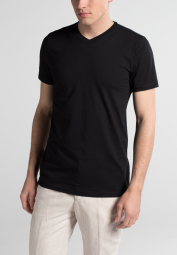 ETERNA BODYSHIRT WITH V-NECK BLACK UNI