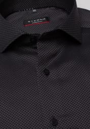 ETERNA LONG SLEEVE SHIRT MODERN FIT BLACK