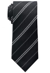 ETERNA TIE BLACK STRIPED