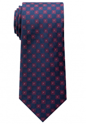 ETERNA TIE RED PATTERNED