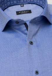 ETERNA LONG SLEEVE SHIRT COMFORT FIT BLUE