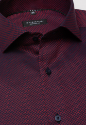 ETERNA LONG SLEEVE SHIRT COMFORT FIT BORDEAUX