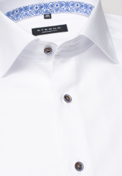 ETERNA LONG SLEEVE SHIRT COMFORT FIT OXFORD WHITE UNI
