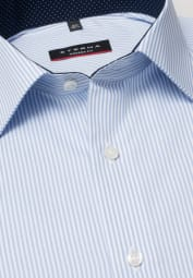 ETERNA LONG SLEEVE SHIRT MODERN FIT LIGHT BLUE