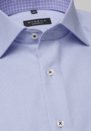 ETERNA LONG SLEEVE SHIRT COMFORT FIT LIGHT BLUE