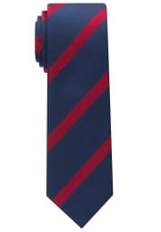 ETERNA TIE NAVY / RED STRIPED