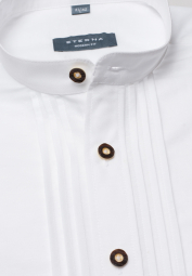 ETERNA LONG SLEEVE SHIRT MODERN FIT LINEN WHITE UNI