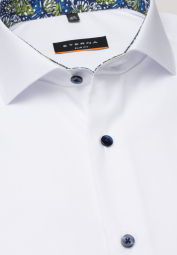 ETERNA LONG SLEEVE SHIRT SLIM FIT POPLIN WHITE UNI