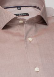 ETERNA LONG SLEEVE SHIRT SLIM FIT BEIGE UNI