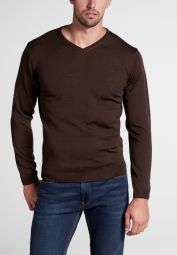 ETERNA KNIT SWEATER WITH V-NECK UNI