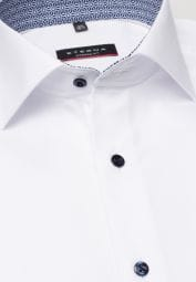 ETERNA LONG SLEEVE SHIRT MODERN FIT WHITE
