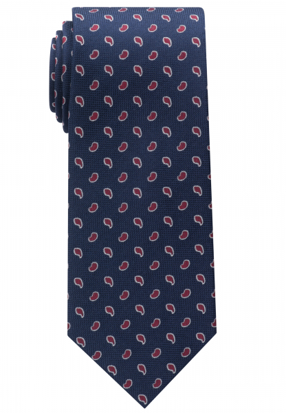 ETERNA TIE BLUE/RED PATTERNED