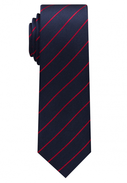 ETERNA TIE RED / NAVY BLUE STRIPED