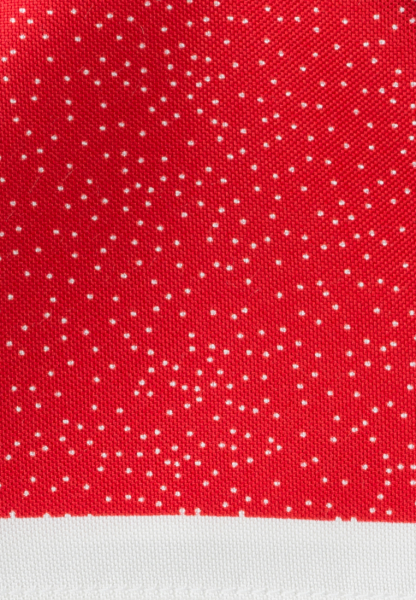 ETERNA POCKET SQUARE RED/WHITE SPOTTED
