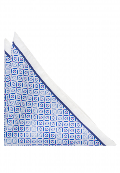 ETERNA POCKET SQUARE LIGHT BLUE PRINTED