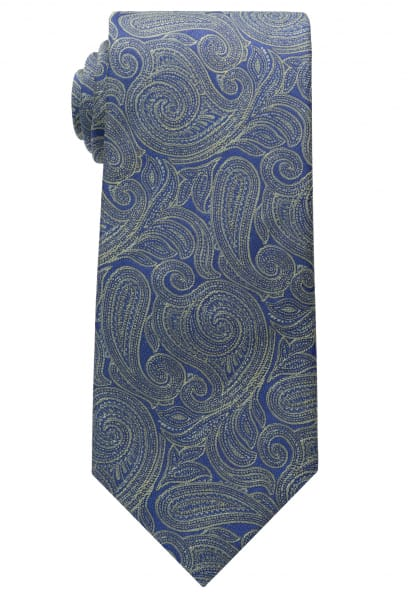 ETERNA TIE GREEN/BLUE PATTERNED