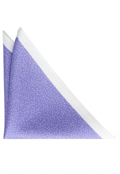ETERNA POCKET SQUARE LILAC SPOTTED