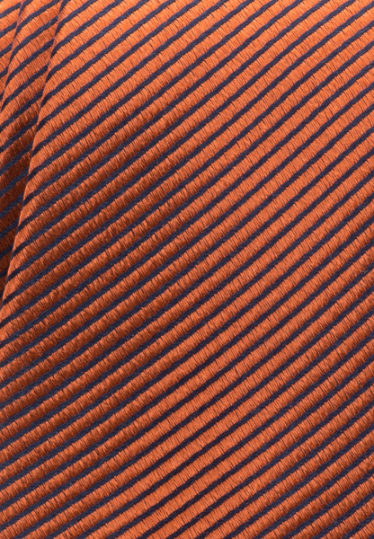 ETERNA TIE TERRACOTTA / BLUE STRIPED