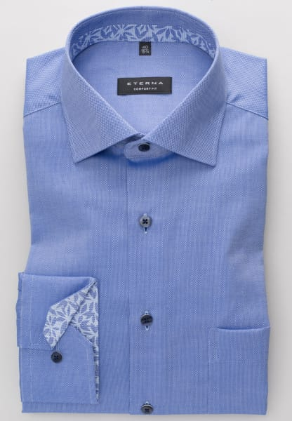 Eterna - long sleeve shirt comfort fit - 5