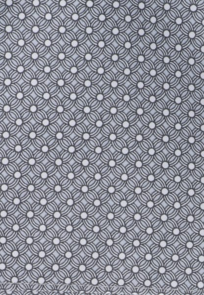 ETERNA POCKET SQUARE GRAY PRINTED