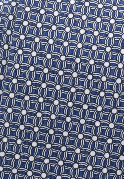ETERNA TIE BLUE/WHITE PRINTED